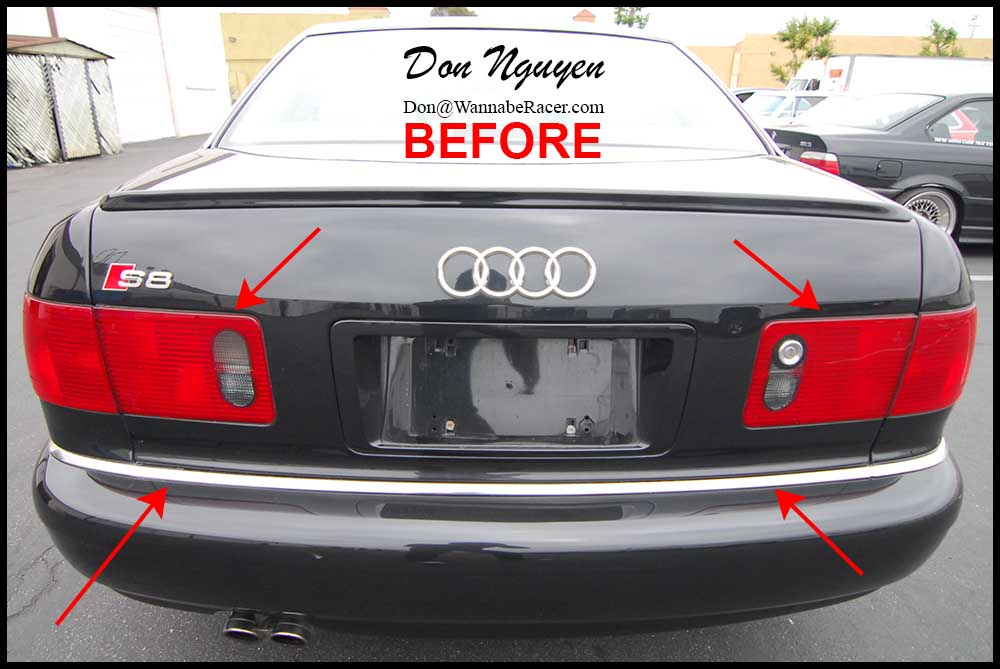 Don Nguyen Vinyl Roof Wrapping Tail Light Tinting Black Out Chrome Trim Install Page 9