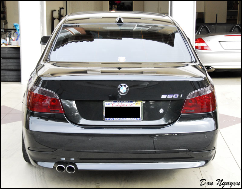 Smoked Tinted Tail Light Pictures E46fanatics