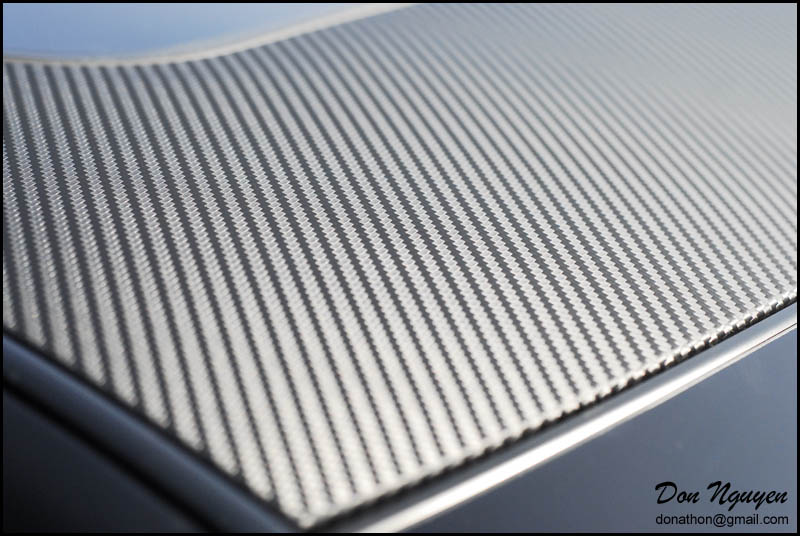 Threads And Fibers Mail: Vinyl Carbon Fiber Roof