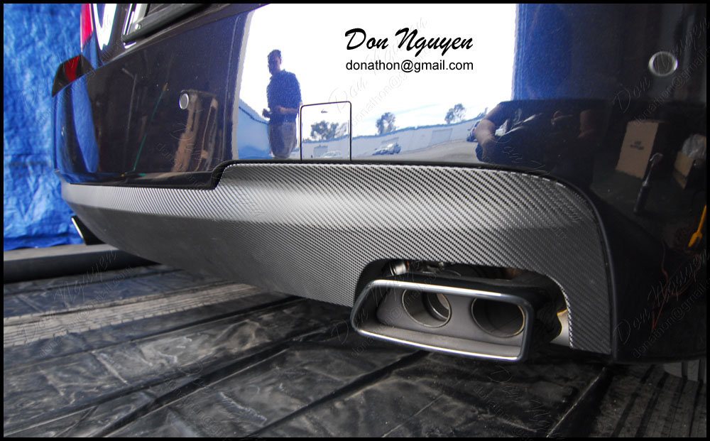 Don Nguyen 3m 1080 Gloss Carbon Fiber Vinyl Rear
