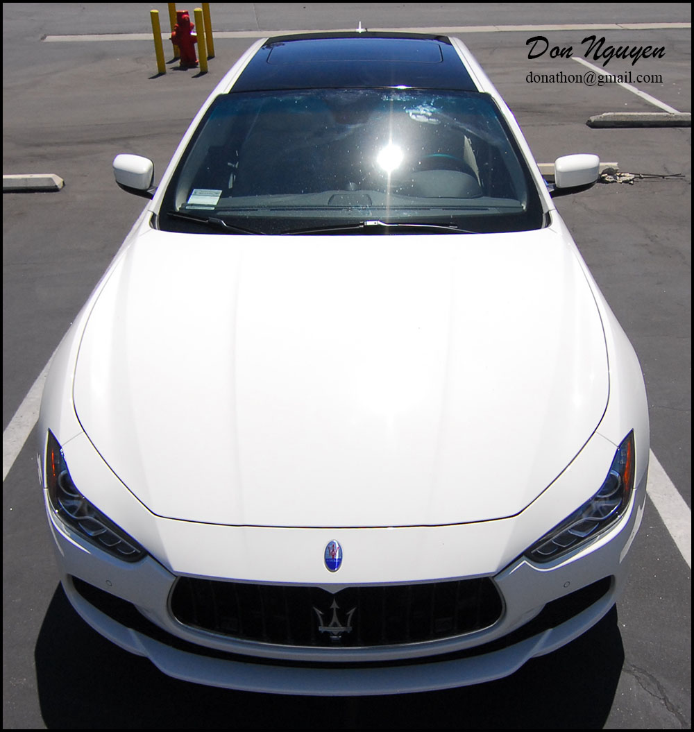 2015 Maserati Ghibli Head Gasket: **Vinyl Roof Wrapping Services + Stickers