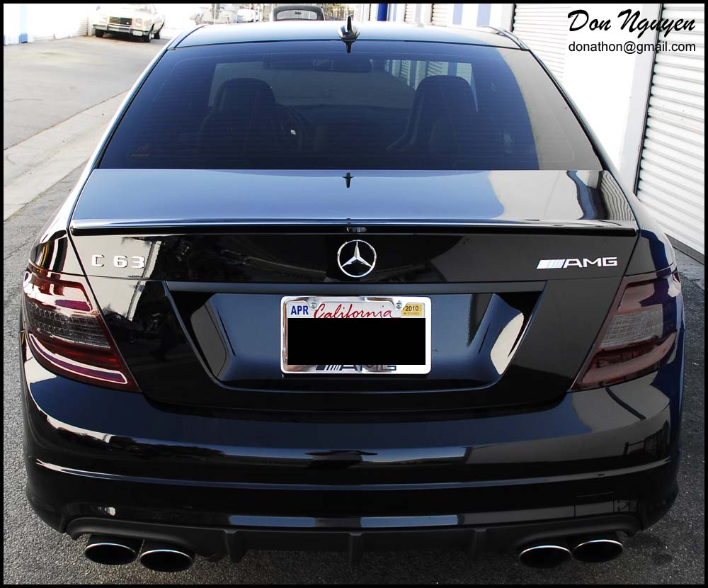 Smoked tinted tail light pictures page 5 e46fanatics for Mercedes benz blue window tint