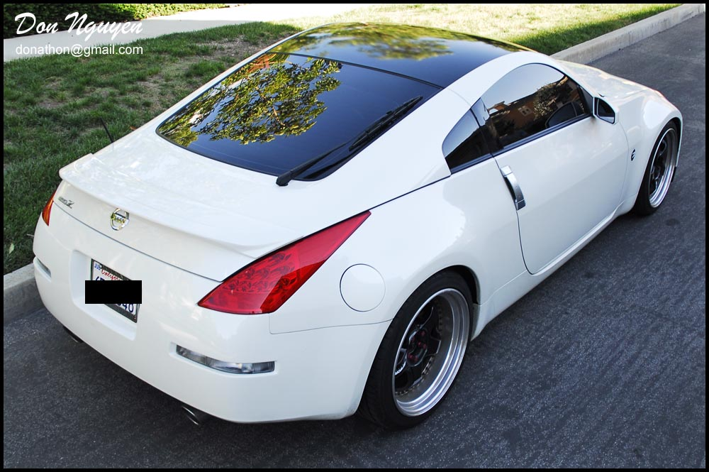 Huntsville Car Scene: Someone Scratched Up The Roof Of My 350z