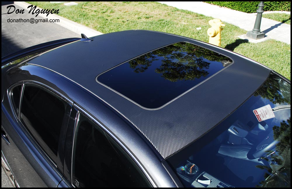 Don Nguyen Vinyl Roof Wrapping Tail Light Tinting