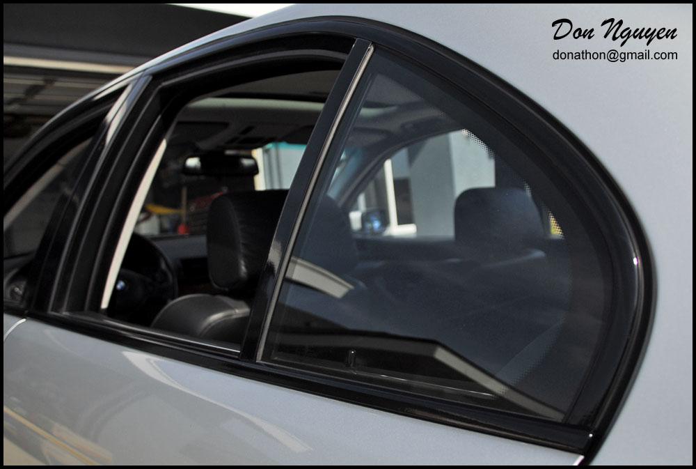Don Nguyen Vinyl Roof Wraps Black Window Trim Custom
