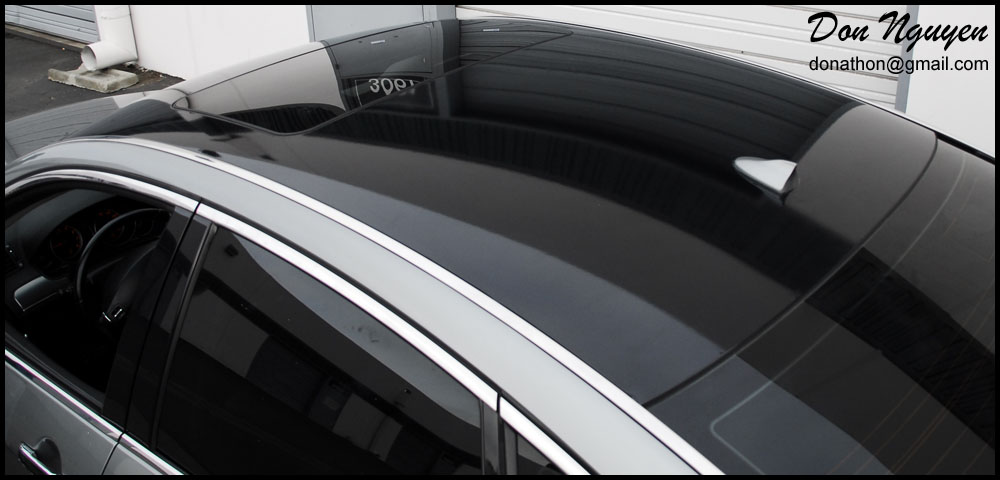 Costa Mesa Nissan >> Don Nguyen | Gloss black vinyl'd roof pictures on some ...